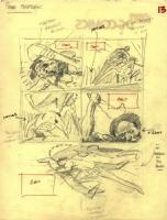 Tarzan prelim page 13 Comic Art