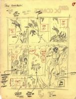 Tarzan prelim page 17 Comic Art