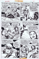 Captain America 198 page 14 by Jack Kirby Comic Art