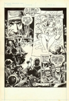 Sgt. Rock page by Joe Kubert Comic Art