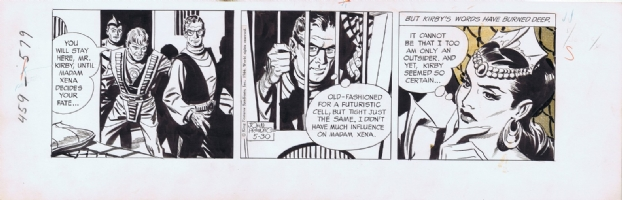 Rip Kirby 1966 - Al Williamson ghosting for John Prentice Comic Art