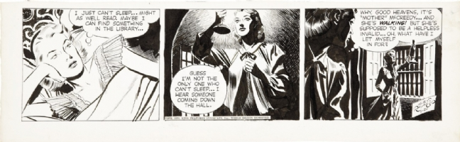 Rip Kirby by Alex Raymond 1953 Comic Art