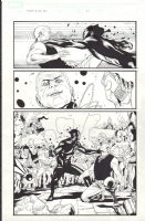 Rafa Sandoval - Young X-Men 8 pg 21 Comic Art