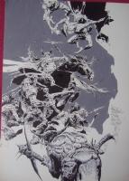 Alex Nino-Savage Sword of Conan 229 cover Comic Art