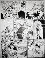 Jordi Bernet - Clara de Noche 815 page 2  Comic Art
