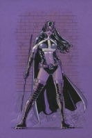 Huntress Canson -Gene Gonzales Comic Art