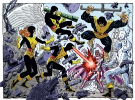 Byrne X-men 01 Comic Art