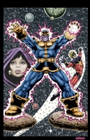 Thanos, Jim Starlin Comic Art