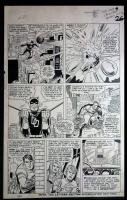 Fantastic Four 39 Comic Art