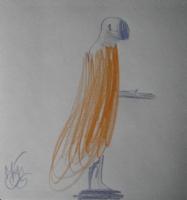 Mattotti pastel Comic Art
