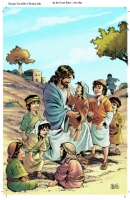 Life of Jesus Comic Art