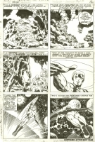 Jack Kirby / Vince Colletta - Thor #165 page 9 Comic Art