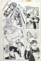 Superboy / Risk 1, pg 16 Comic Art