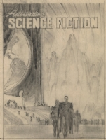 Preliminary for Astounding May 1947 -  Fury  by Henry Kuttner Comic Art