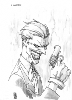 THE JOKER Comic Art