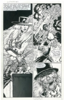 Bloody Sinbuck...Gunfighters in Hell Comic Art