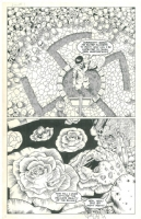 Hitler painting roses in hell Comic Art