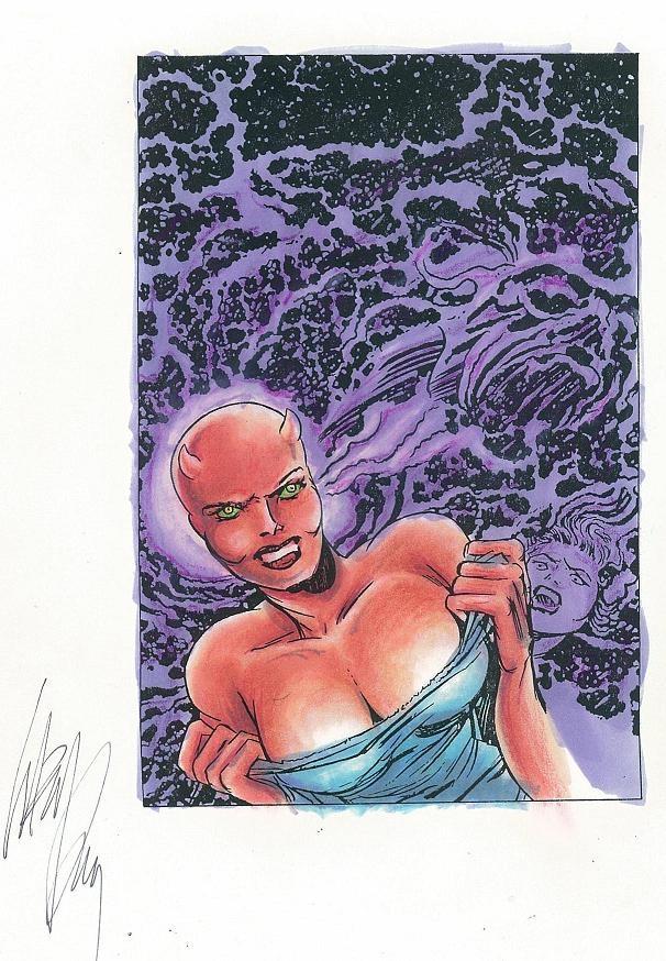 akuma she by jack kirby comic