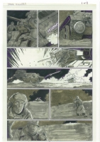 Tank Killers 6 Comic Art