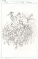 Official Handbook of the Marvel Universe #13 Comic Art
