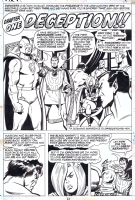 BUSCEMA, SAL The Defenders #8 Pg.19, Comic Art