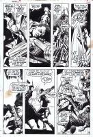 COLAN, GENE Daredevil #69 Pg.19, Comic Art
