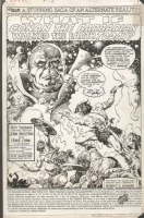 BUSCEMA, JOHN What If Conan #13 Vol.1 USA Pg.01, Comic Art