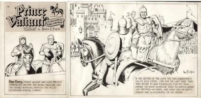 FOSTER, HAROLD Prince Valiant 02/16/1964, Comic Art