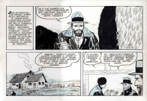 PRATT, HUGO Ernie Pike Tavola 14 Comic Art