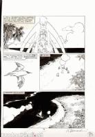 ALESSANDRINI, GIANCARLO Martin Mystere #110 Pg.73 Comic Art