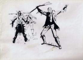 Hugo Pratt , ticonderoga !! Comic Art