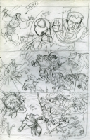 Untold Tales of Spiderman: Strange Encounters #1 p. 37 Prelim A (1998), Comic Art