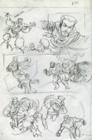 Untold Tales of Spiderman: Strange Encounters #1 p. 37 prelim B (1998), Comic Art