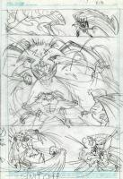 Marvel Universe: Untold Tales of Dr. Strange p. 18 Prelim (2001), Comic Art