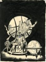 Dr Strange Sketch -John Romita, Comic Art