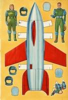Spaceport U.S.A. (1953), Comic Art