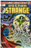 Doctor Strange 6 (hand-colored copy of cover), Comic Art