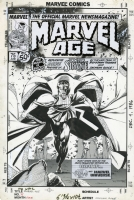 Marvel Age 75 (1989) Comic Art