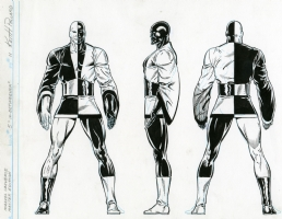 In-Betweener from Marvel Universe Master Edition Comic Art