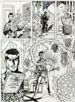Spider-man: Fever 1 p. 5 (2010), Comic Art