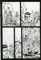 Spider-man: Fever 3 p. 9 (2010), Comic Art