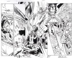Universe X 1 p.2-3 (2000), Comic Art
