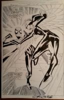 Spider-girl 25 splash, Raptor Comic Art
