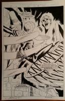 Spider-girl 25 splash, Mr. Abnormal Comic Art