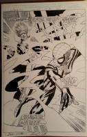 Spider-girl 25 splash, Killerwatt Comic Art