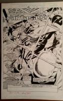 Spider-girl 19 splash page, Fantasies Comic Art