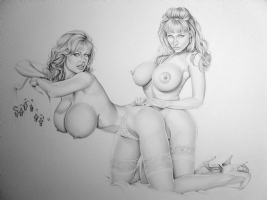 Traci & Danni Comic Art