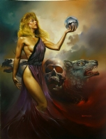 Boris Vallejo - Circe Comic Art