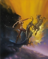 Boris Vallejo - Dusk Comic Art