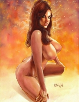 Cynthia Myers Comic Art